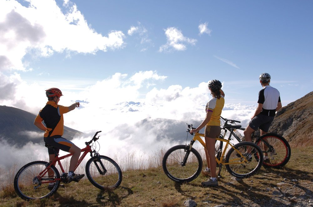 Leisurely bicycle excursions in the Isarco Valley