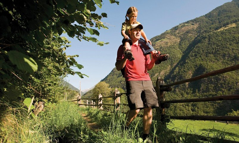 Exciting hiking holidays with children in South Tyrol