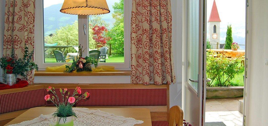 Le camere al weidmannshof un accogliente alloggio a for Alloggi a bressanone